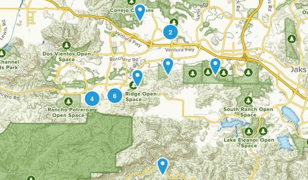 Newbury Park, California Views Map