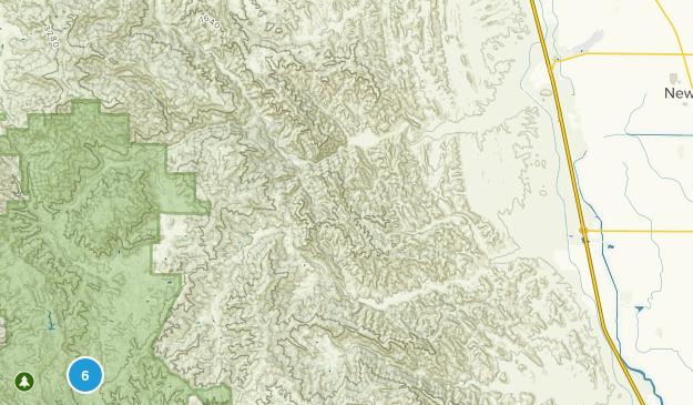 Newman, California Hiking Map