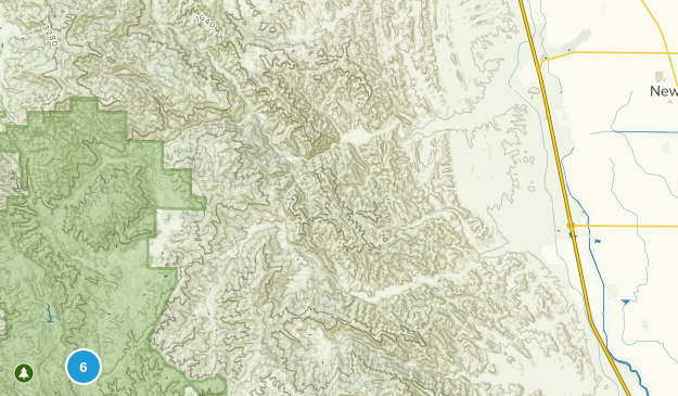 Newman, California Nature Trips Map
