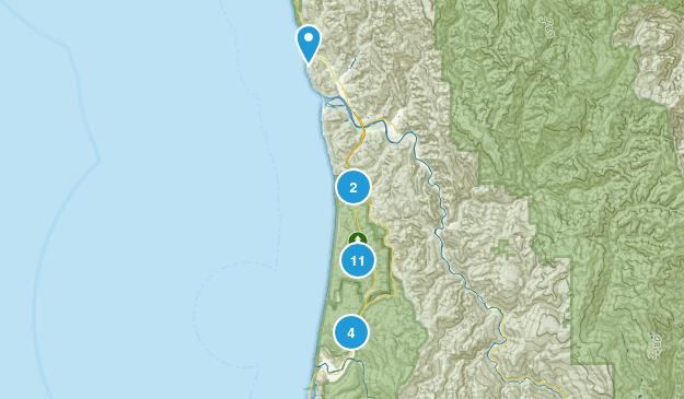 Orick, California Kid Friendly Map