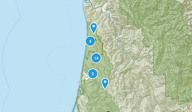 Orick, California Wildlife Map