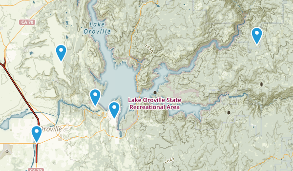 Oroville, California Wildlife Map