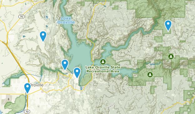 Oroville, California Wildlife Map