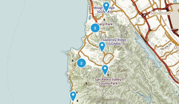 Pacifica, California Wildlife Map
