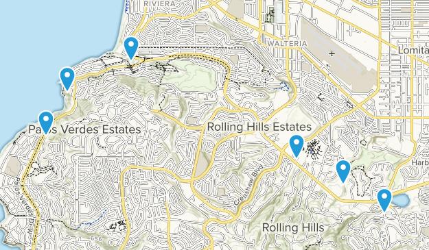 Palos Verdes Peninsula, California Kid Friendly Map