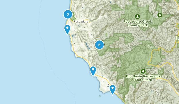 Pescadero, California Kid Friendly Map