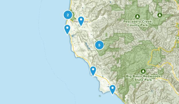 Pescadero, California Views Map