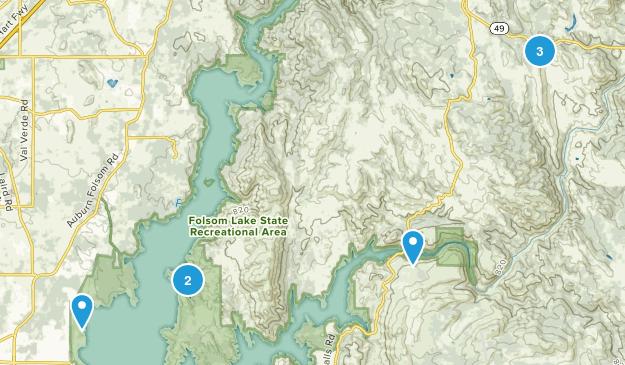 Pilot Hill, California Nature Trips Map