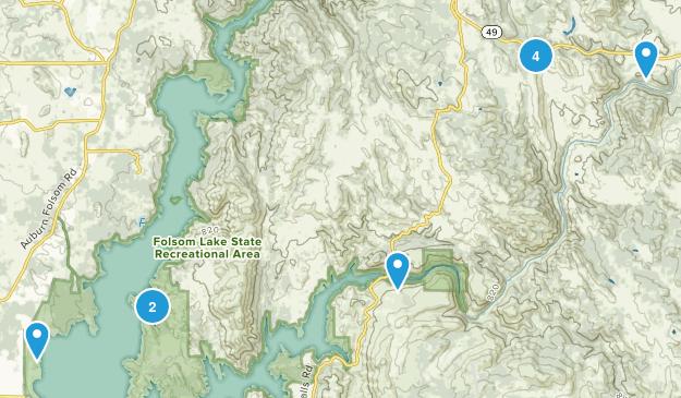 Pilot Hill, California Views Map