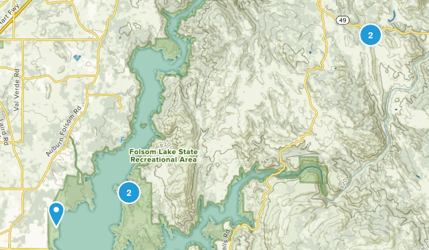 Pilot Hill, California Wildlife Map