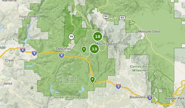 Best Walking Trails near Pine Valley, California | AllTrails