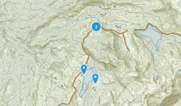 Pioneer, California Hiking Map