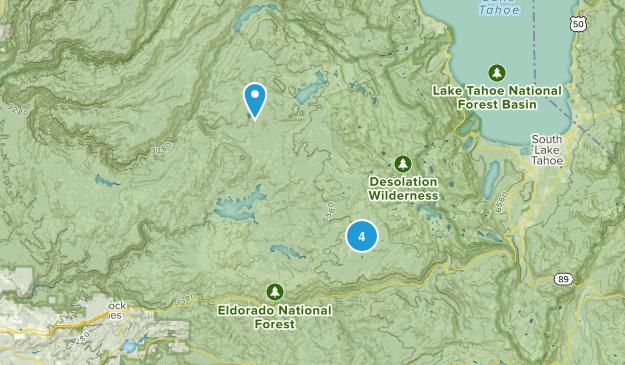 Pollock Pines, California Camping Map