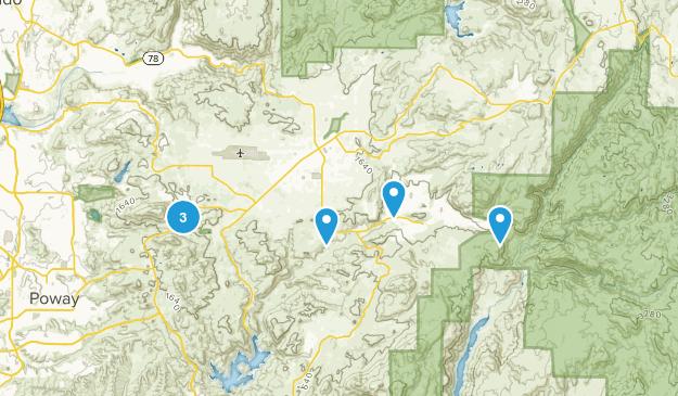 Ramona, California Wildlife Map