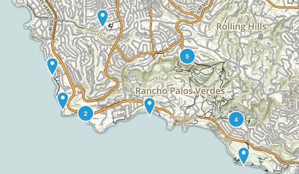 Rancho Palos Verdes, California Birding Map