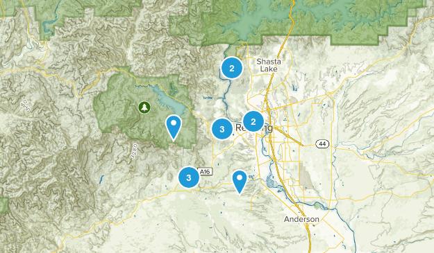Redding, California Wildlife Map