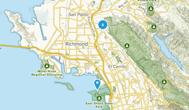 Richmond, California Dog Friendly Map