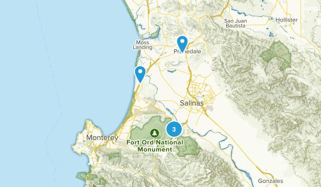 Salinas, California Kid Friendly Map