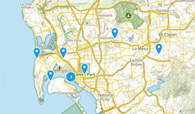 Beste Stadtspaziergänge in der Nähe von San Diego ...