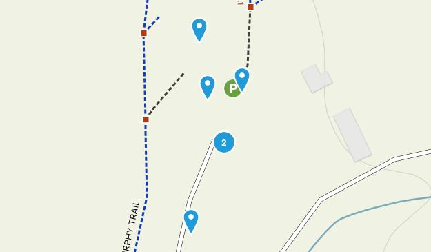 San Martin, California Trail Running Map