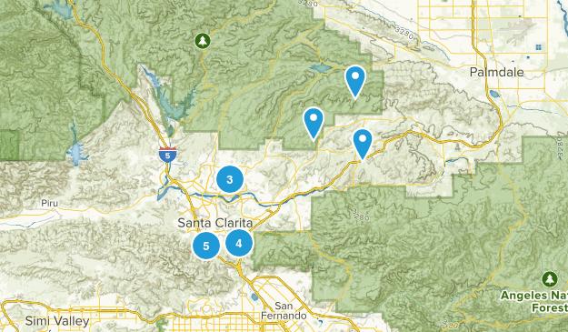 Santa Clarita, California Birding Map