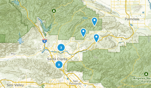Santa Clarita, California Birding Map
