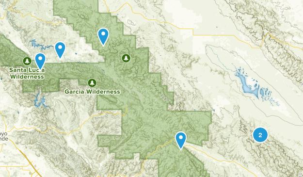 Santa Margarita, California Birding Map