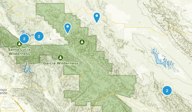 Santa Margarita, California Dogs On Leash Map