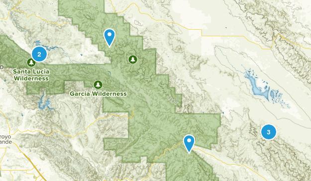 Santa Margarita, California Nature Trips Map