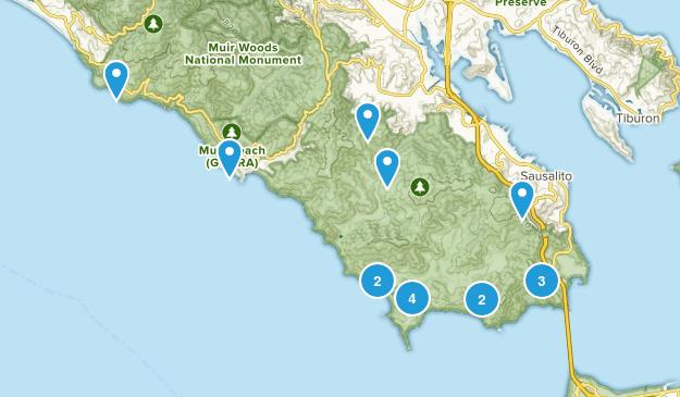 Sausalito, California Kid Friendly Map