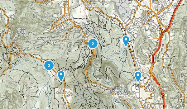 Scotts Valley, California Birding Map