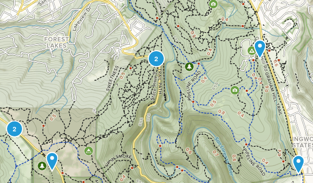 Scotts Valley, California Birding Map