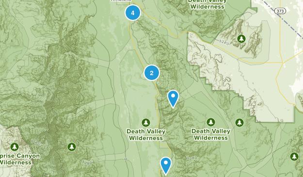 Shoshone, California No Dogs Map