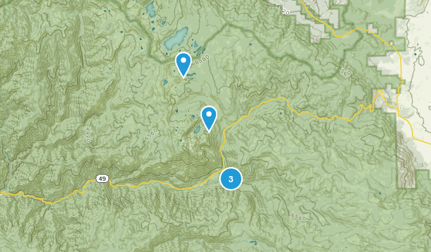 Sierra City, California Kid Friendly Map