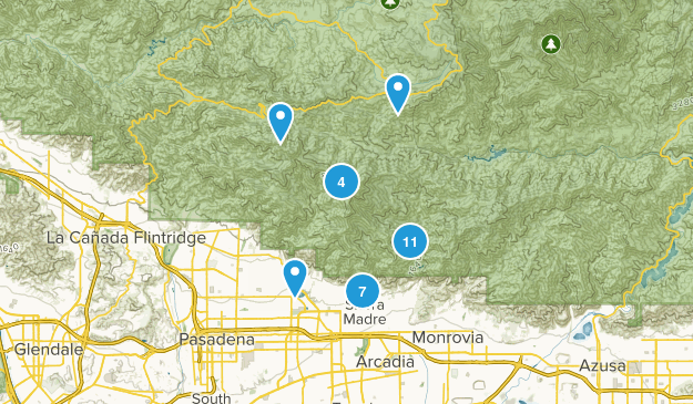 Sierra Madre, California Birding Map