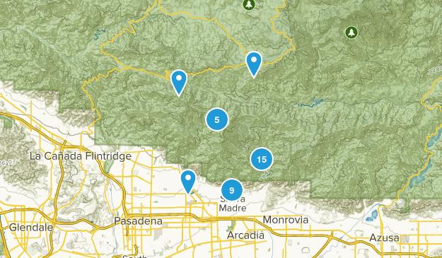 Sierra Madre, California Views Map