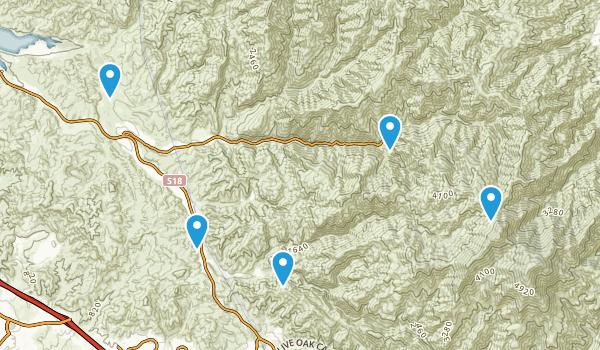 Silverado, California Birding Map