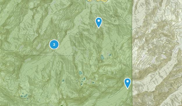 Somes Bar, California Camping Map