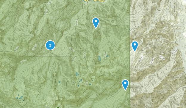 Somes Bar, California Hiking Map