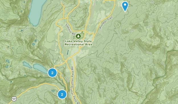 South Lake Tahoe, California Horseback Riding Map