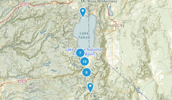 South Lake Tahoe, California Wildlife Map
