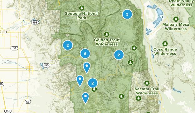 Springville, California Dog Friendly Map