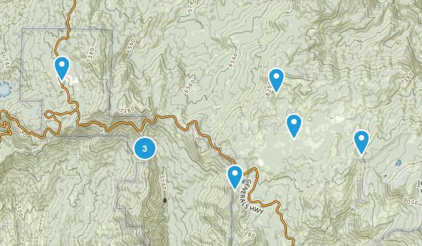 Stony Creek Village, California Walking Map