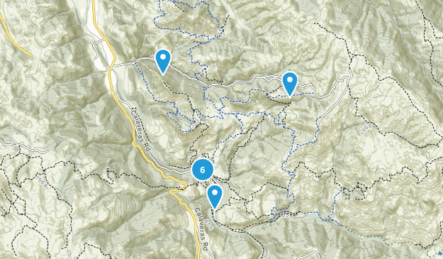 Sunol, California Dogs On Leash Map