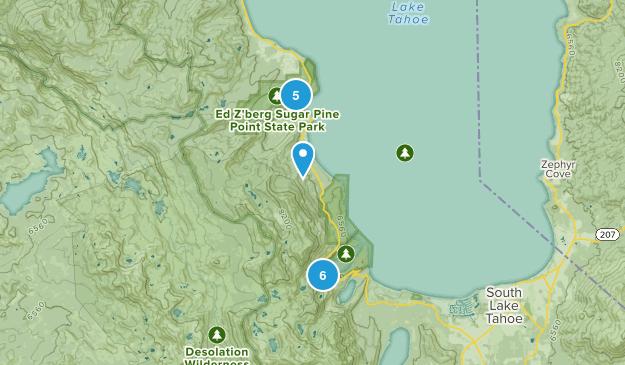 Tahoma, California Wildlife Map