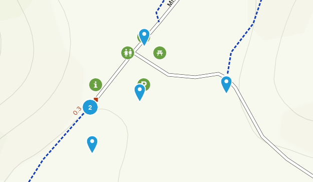 Tamalpais-Homestead Valley, California Hiking Map