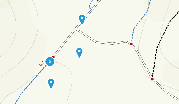 Tamalpais-Homestead Valley, California Walking Map