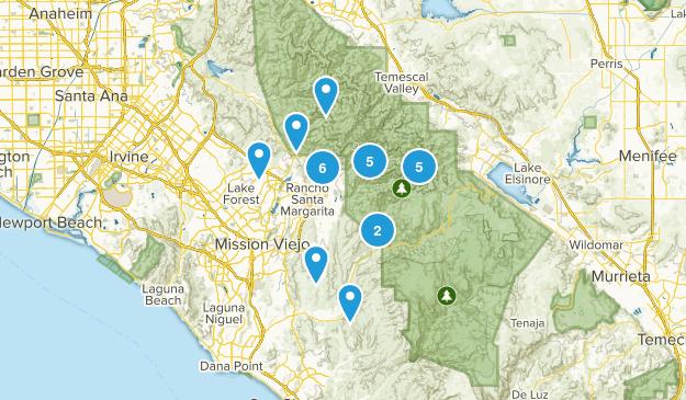 Trabuco Canyon, California Views Map