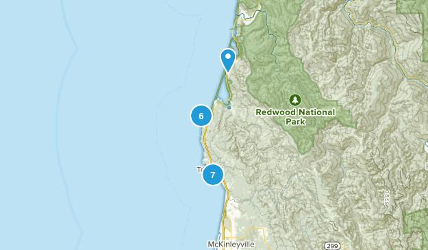 Trinidad, California Beach Map