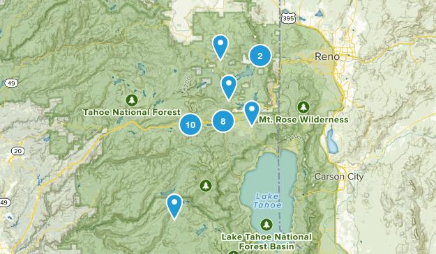 Truckee, California Wildlife Map